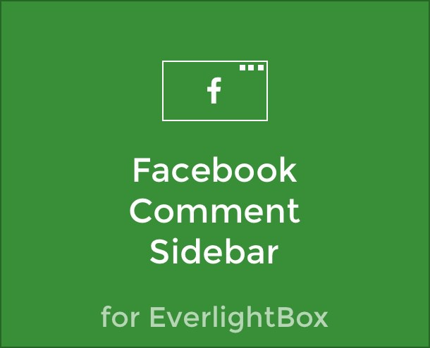 facebook comment sidebar